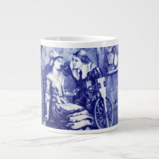 Mayflower Lovers John Alden & Patricia Mullins Giant Coffee Mug