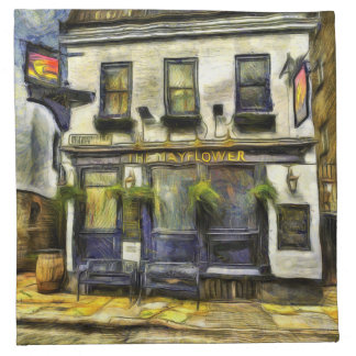Mayflower Pub London Van Gogh Napkin