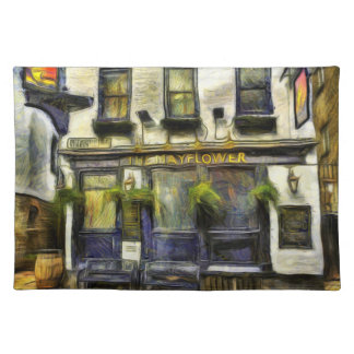 Mayflower Pub London Van Gogh Placemat