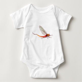 Mayfly vector baby bodysuit