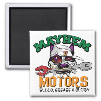 Mayhem Motors Magnet