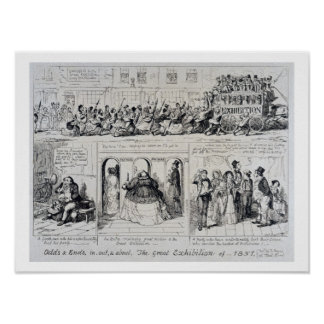 Mayhew's Great Exhibition of 1851: Odds and Ends, Poster