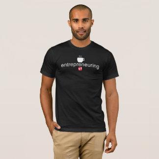 Mayniax Branding Entrepreneuring Men's Black T-Shirt