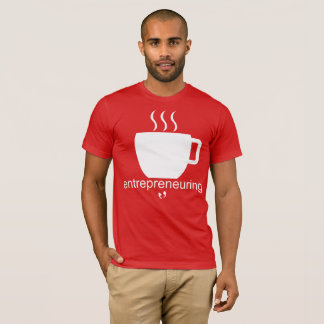 Mayniax Branding Entrepreneuring Men's Red T-Shirt