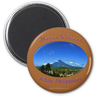 Mayon Volcano, Albay Philippines Magnet