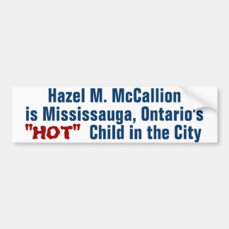 Mayor McCallion Bumper Stickers