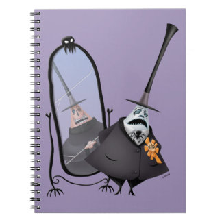 Mayor of Halloween Town | Mirror Spiral Notebook