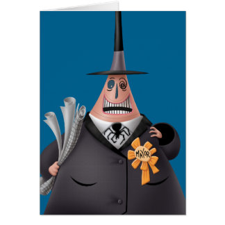 Mayor Of Halloween Town | Smiling Face Card