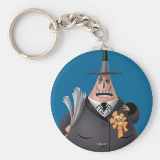 Mayor Of Halloween Town | Smiling Face Key Ring