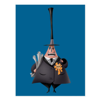 Mayor Of Halloween Town | Smiling Face Postcard