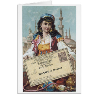 Mayot a Rethel Greeting Card