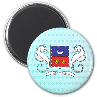Mayotte Coat of Arms detail Magnet