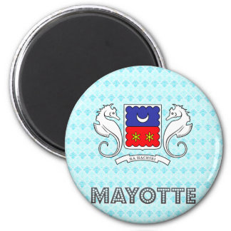 Mayotte Coat of Arms Magnet