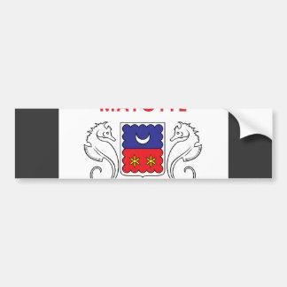 Mayotte Flag Bumper Sticker