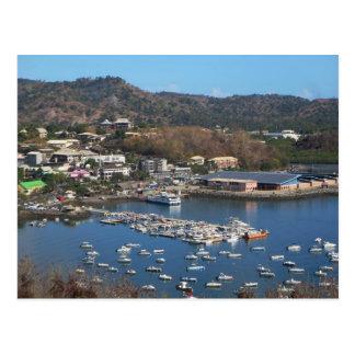 Mayotte - Large Ground - Mamoudzou Postcard