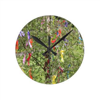 Maypole #2 round clock