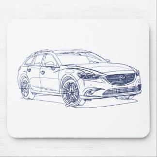 Maz 6 Wagon 2017 Mouse Pad