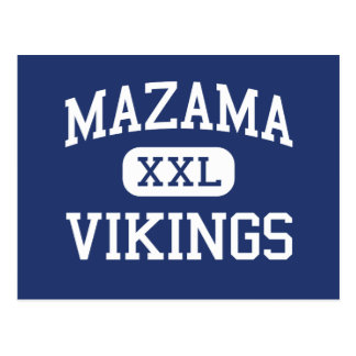 Mazama - Vikings - High - Klamath Falls Oregon Postcard