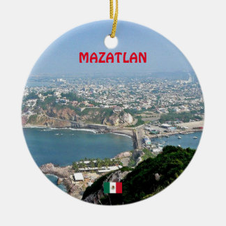 Mazatlan Mexico Custom Christmas Ornament