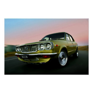 Mazda Rotary Powered RX3 Poster
