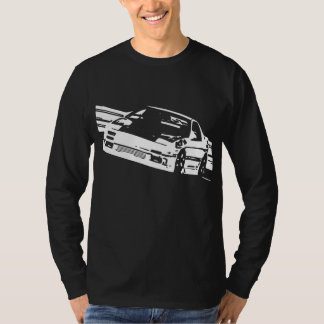 Mazda RX-7 FC3S Sideways Long Sleeve T Shirts