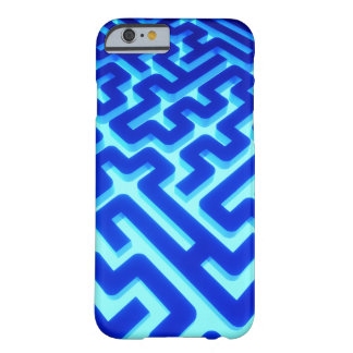 Maze Blue Barely There iPhone 6 Case