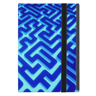 Maze Blue Case For iPad Mini