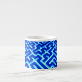Maze Blue Espresso Cup