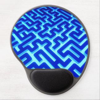 Maze Blue Gel Mouse Pad