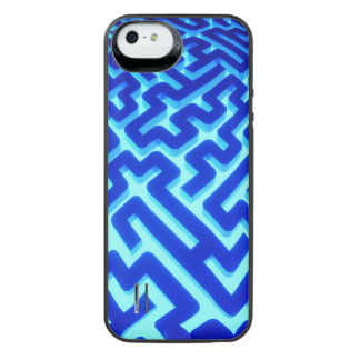 Maze Blue iPhone SE/5/5s Battery Case