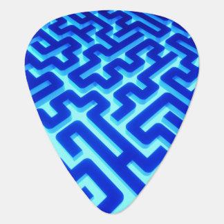 Maze Blue Plectrum