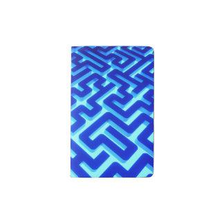 Maze Blue Pocket Moleskine Notebook