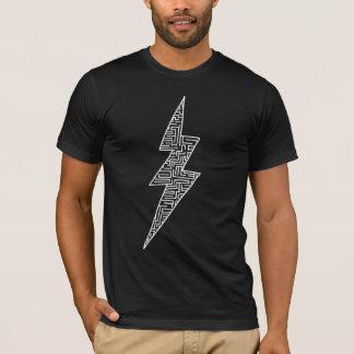 Maze Bolt (White) T-Shirt