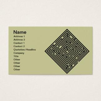 Maze Business card