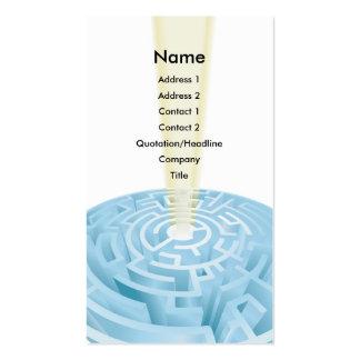 Maze business card background design