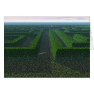 Maze Card