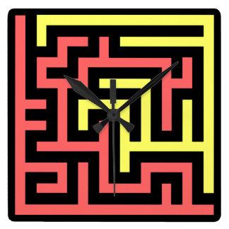 Maze Clocks