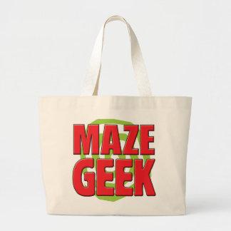 Maze Geek Tote Bags