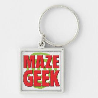 Maze Geek Keychain