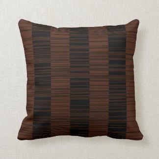 Maze Geometric Pattern Throw Pillow