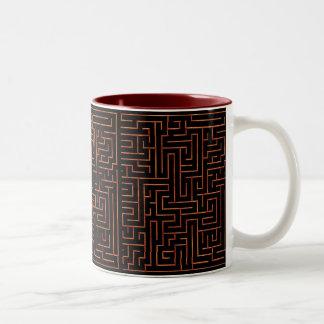 maze, maze, maze, mug