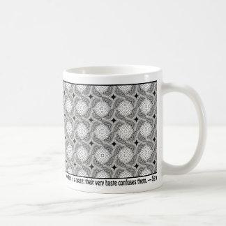Maze/Not Basic White Mug