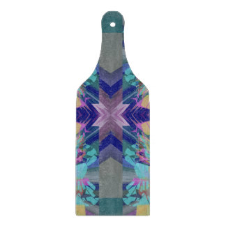 Maze of colors cutting board
