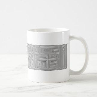 maze on a mug