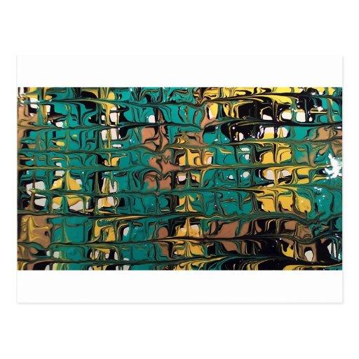 maze postcard