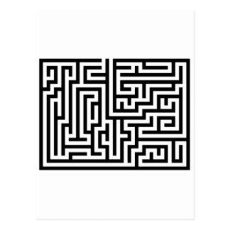 Maze Post Card