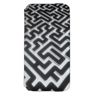 Maze Silver Black Incipio Watson™ iPhone 6 Wallet Case
