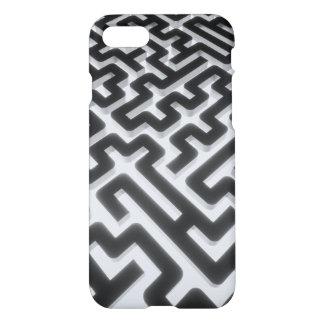 Maze Silver Black iPhone 8/7 Case