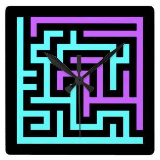 Maze Wall Clocks