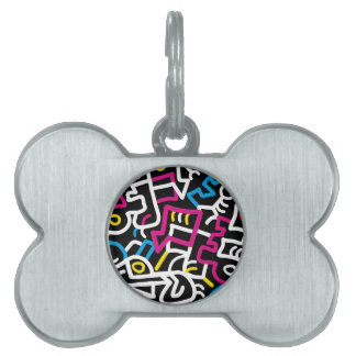 Mazed and Confused Pet Tag